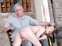 New Twunk Spanked Crimson Raw! - Lyle Boyce And Sebastian Kane