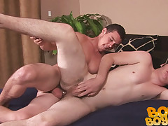 Broke Gay-for-pay Boys - Bobby coupled with Mark