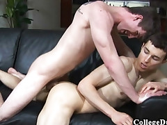 College Folks - Bryan Cavallo pokes Jared Kent