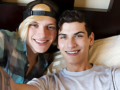 Bareback Man rod Homies Home Movie! - Justin Cross & Kayden Alexander