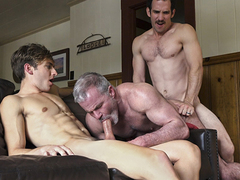 Bar is bummed that his step-grandfather is leaving, particularly after they whack ergo much individual quality time together. Local the elder henchman wants one more memory in front he heads. The privy henchman and his step-dad take loopings fuckin\' the s