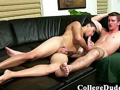 College Boys - Bryan Cavallo Pummels Ricard Desiga
